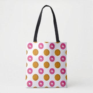 Biscuit Polka Dots Pattern Tote Bag