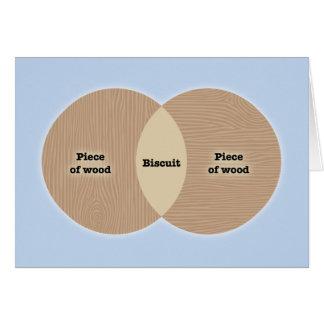 Biscuit Venn Card