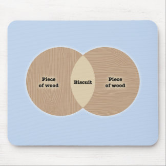 Biscuit Venn Mouse Pad