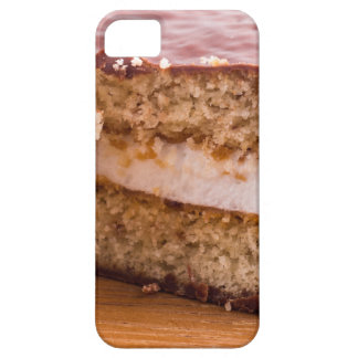 Biscuit with chocolate and a layer of milk souffle case for the iPhone 5