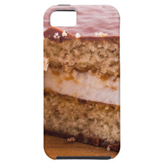Biscuit with chocolate and a layer of milk souffle iPhone 5 case