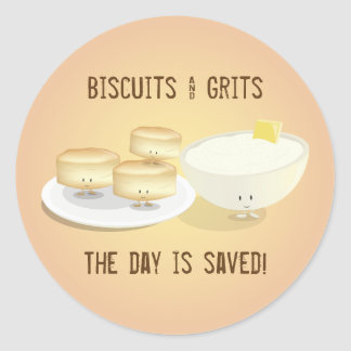 Biscuits and Grits | Stickers