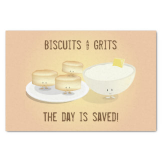 Biscuits and Grits | Tissue Paper