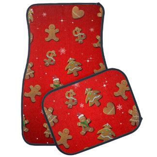 Biscuits mignons de pain d'épice tapis de sol