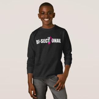 Bisectional Boy's Dark Long Sleeve T-Shirt