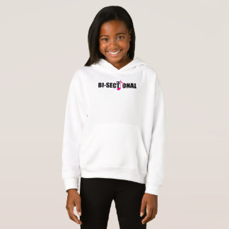 Bisectional Girl's Hoodie