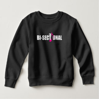 Bisectional Toddler Dark Sweatshirt