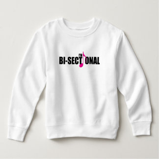 Bisectional Toddler Sweatshirt