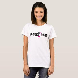 Bisectional Women's Basic T-Shirt