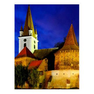 Biserica Sfantul Servatius Postcard