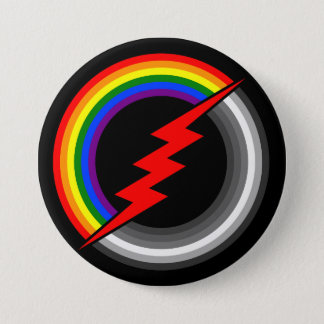 Bisexual 3 Inch Round Button