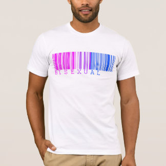 Bisexual Barcode Shirt