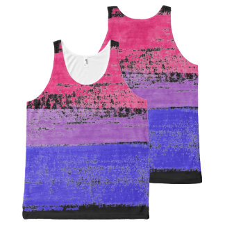 BISEXUAL FIST All-Over-Print TANK TOP