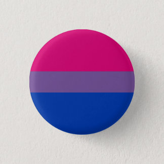 Bisexual flag badge / 1 inch round button