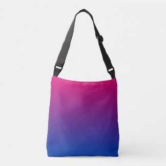 Bisexual Flag Gradient Crossbody Bag