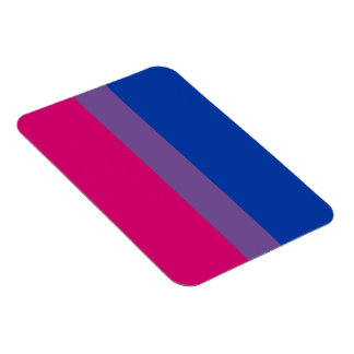 Bisexual flag magnet