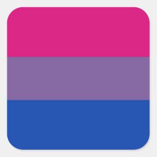 Bisexual Flag Square Sticker