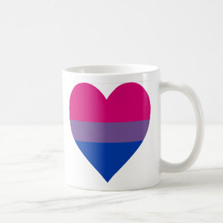"""Bisexual Heart"" Mug"