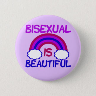 Bisexual Is Beautiful 2 Inch Round Button