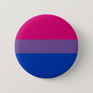 Bisexual LGBT Pride Rainbow Flag 2 Inch Round Button