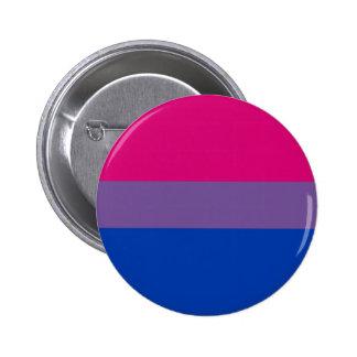 Bisexual LGBT Pride Rainbow Flag 2 Inch Round Button