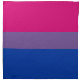 Bisexual LGBT Pride Rainbow Flag Napkin