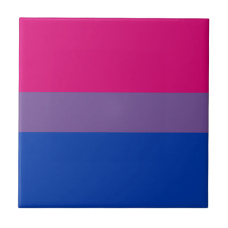 Bisexual LGBT Pride Rainbow Flag Tile