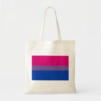 Bisexual LGBT Pride Rainbow Flag Tote Bag