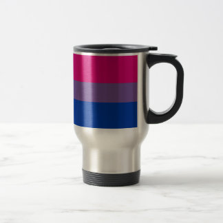 Bisexual LGBT Pride Rainbow Flag Travel Mug