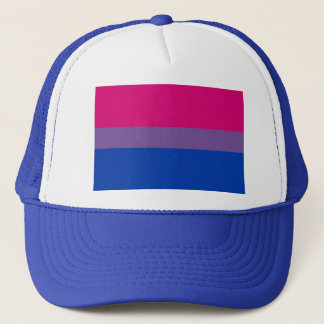 Bisexual LGBT Pride Rainbow Flag Trucker Hat