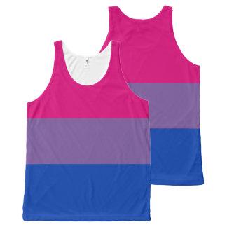 Bisexual pride All-Over-Print tank top