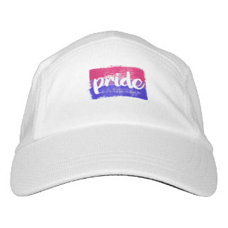 BISEXUAL PRIDE CALLIGRAPHY - PAINTED BISEXUAL PRID HAT