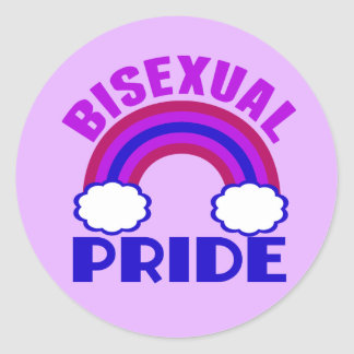 Bisexual Pride Classic Round Sticker