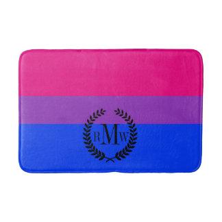 Bisexual Pride Flag Bath Mat