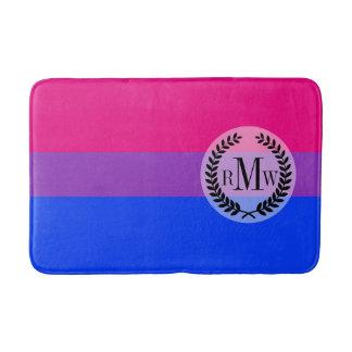 Bisexual Pride Flag Bathroom Mat