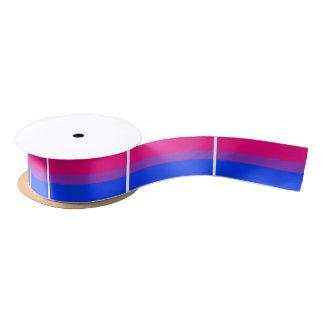 Bisexual Pride Flag Satin Ribbon