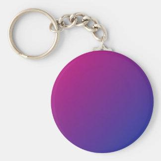 Bisexual Pride keychain - gradient