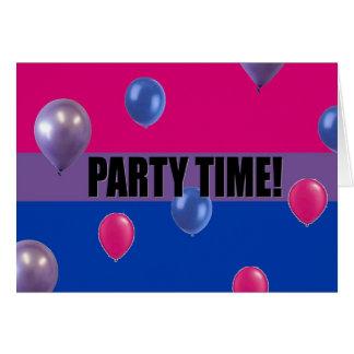 Bisexual Pride Party Invitation