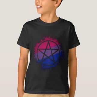 Bisexual Pride Pentacle T-Shirt