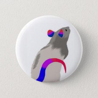 Bisexual Rat 2 Inch Round Button