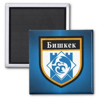Bishkek  Flag Magnet