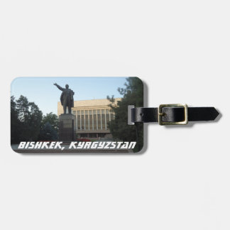 Bishkek, Kyrgyzstan Vladimir Lenin Bag Tag
