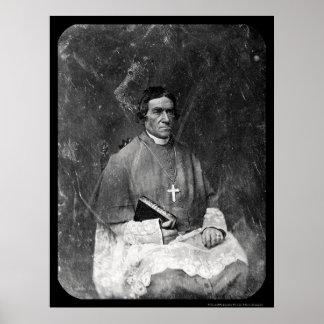 Bishop Baraga Daguerreotype 1844 Poster