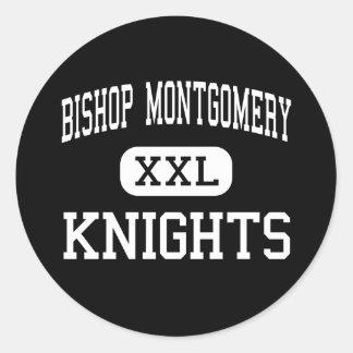 Bishop Montgomery - Knights - High - Torrance Classic Round Sticker