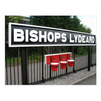 Bishops Lydeard station, West Somerset Railway Postcard