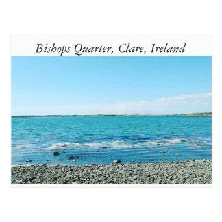 Bishops Quarter Beach, Clare, Ireland Postcard