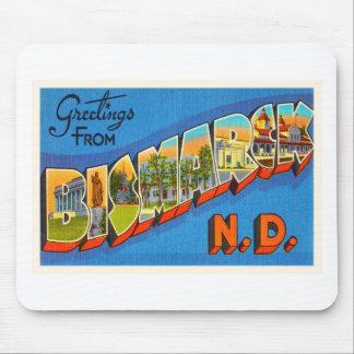 Bismarck North Dakota ND Vintage Travel Souvenir Mouse Pad