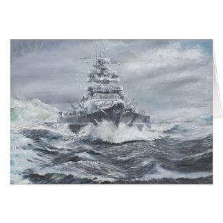 Bismarck off Greenland coast 1900hrs 23rdMay Card