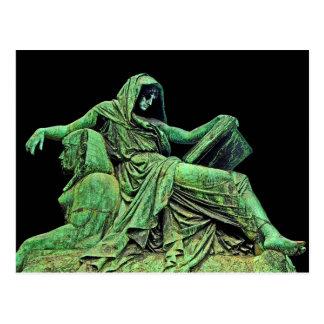 Bismarck Statue, Berlin, Sibyl, Read, Sphinx (p2) Postcard