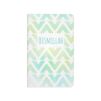 Bismillah pocket journal pastel